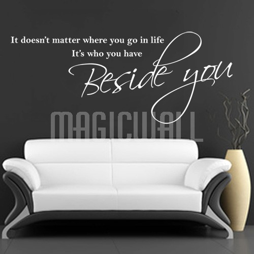 Beside quote #1