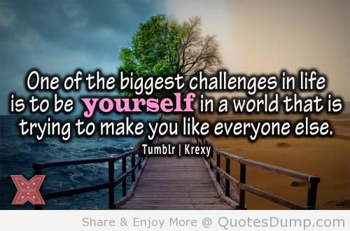 biggest challenge in my life What is challenge as a human being everyone must have challenge in their life life's challenge are not supposed to paralyze you they are supposed to help you discover who you are, what is.