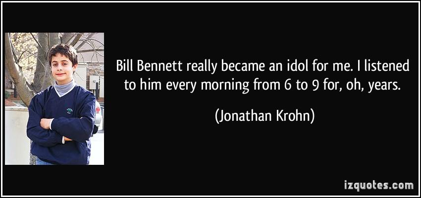 Bill Bennett's quote #1