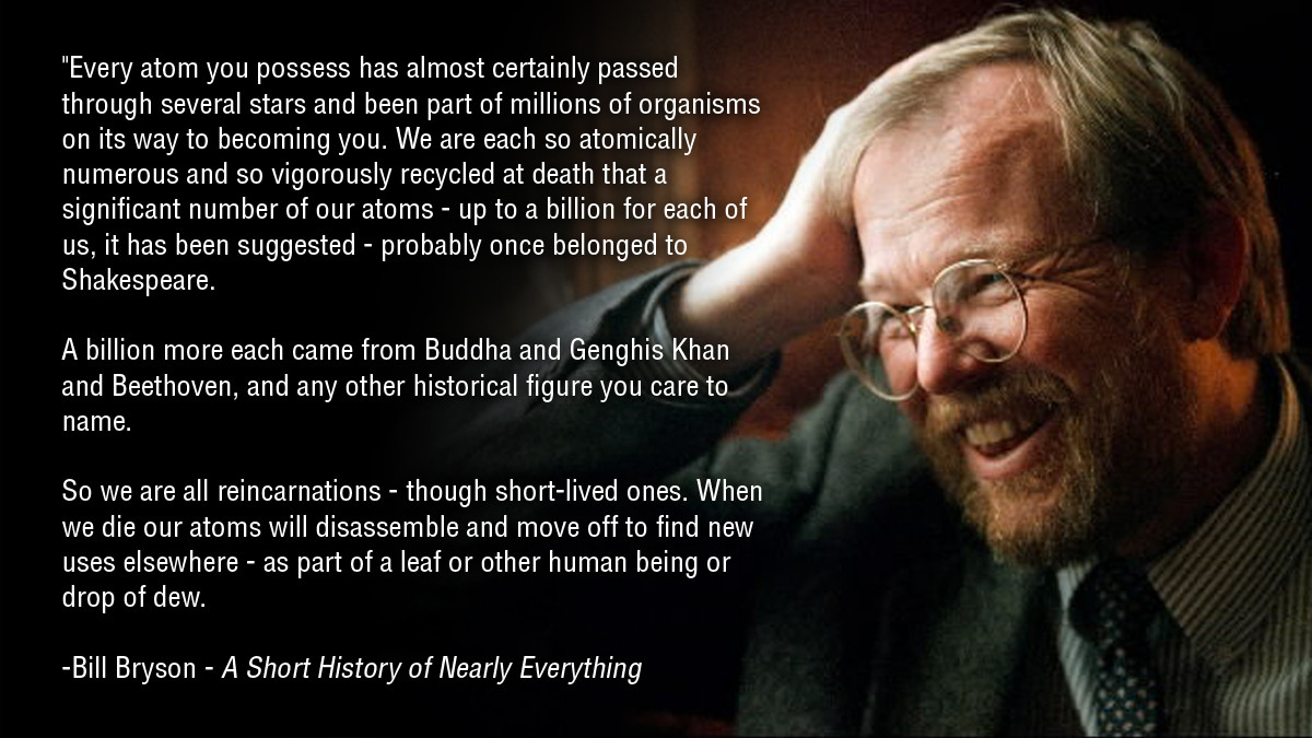 Bill Bryson's quote #1
