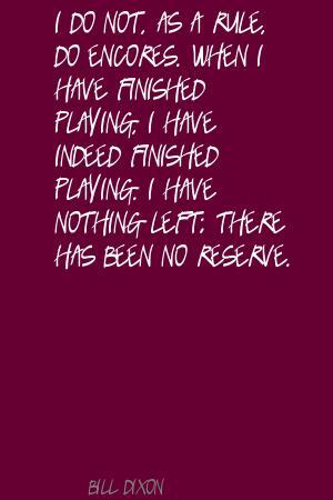 Bill Dixon's quote #5