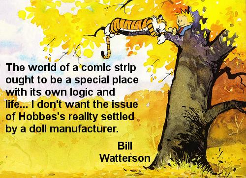 Bill Watterson's quote #5