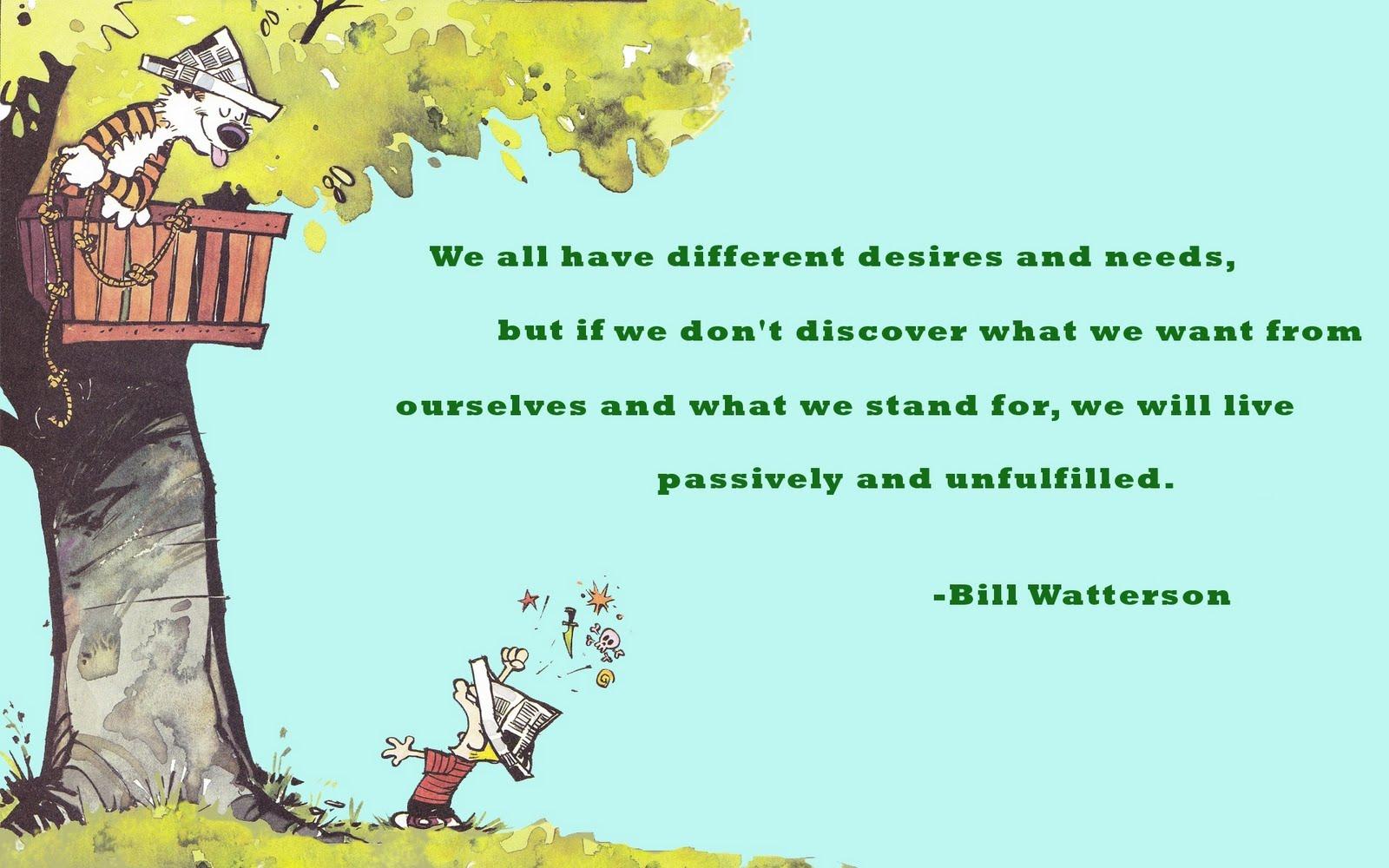 Bill Watterson's quote #6