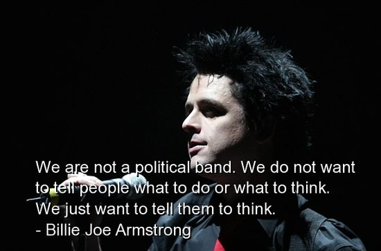 Billie Joe Armstrong's quote #7