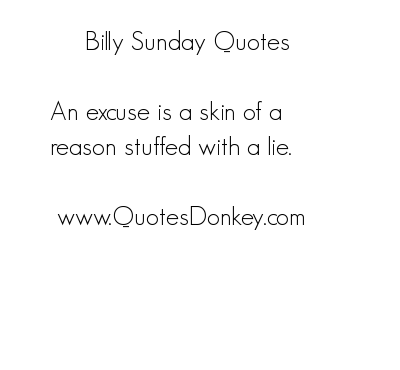 Billy Sunday's quote #5