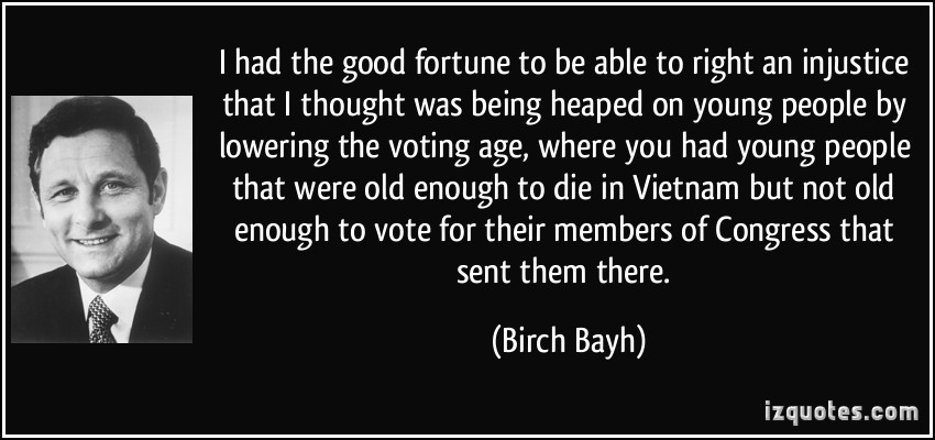 Birch Bayh's quote #2
