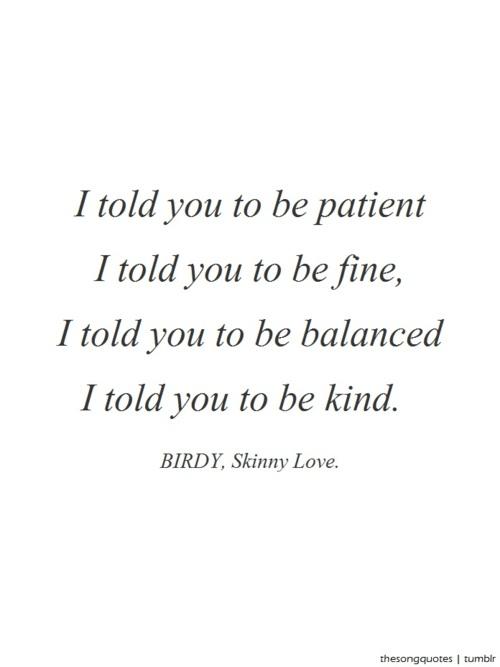 Birdy's quote #7