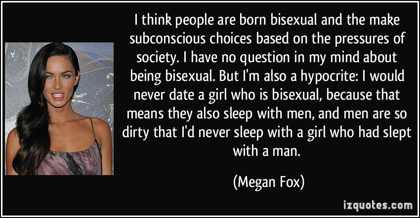 Bisexual celeb quotes