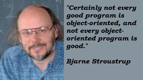 Bjarne Stroustrup's quote #1