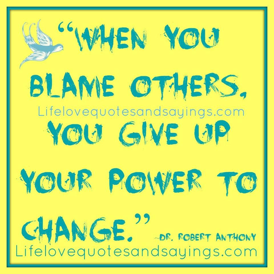 Blame quote #5