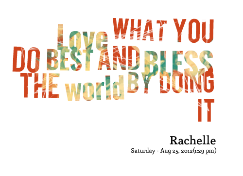 Bless quote #3