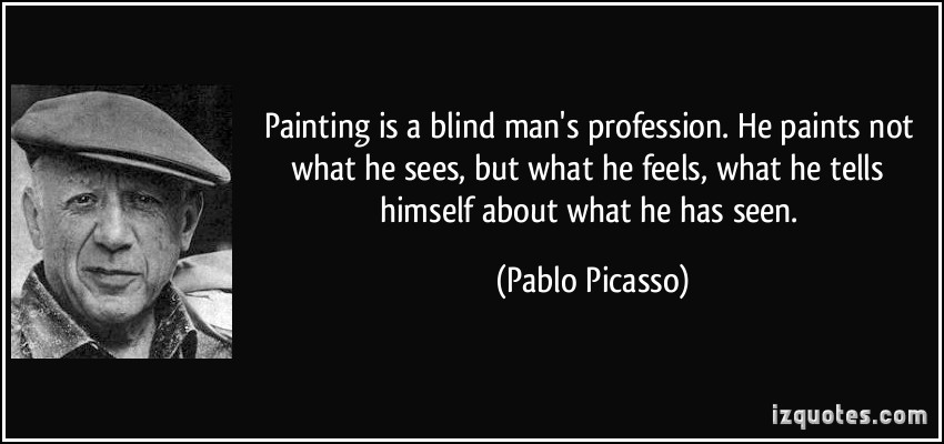 Blind Man quote #2