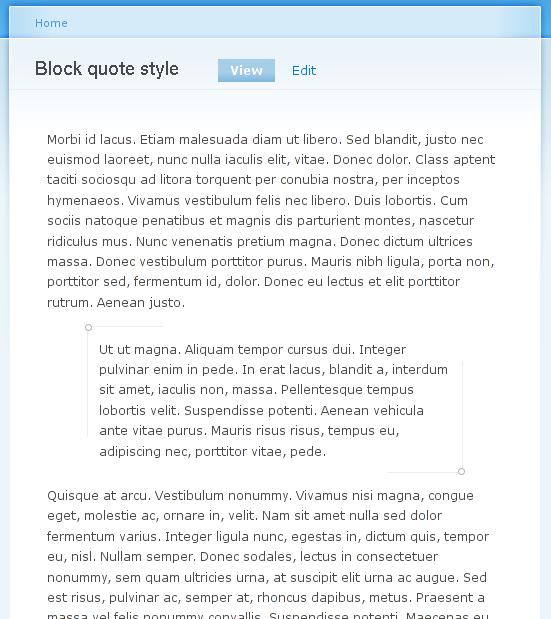 Block quote #5