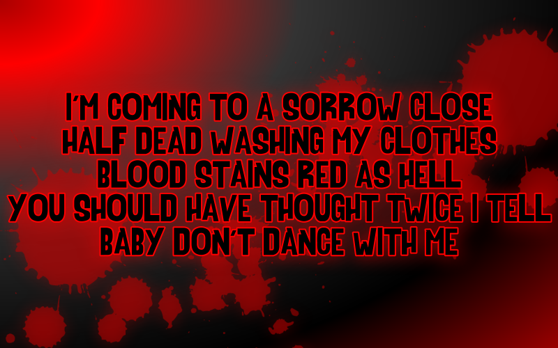 Bloody quote #8