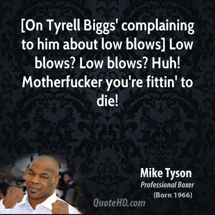 Blows quote #2