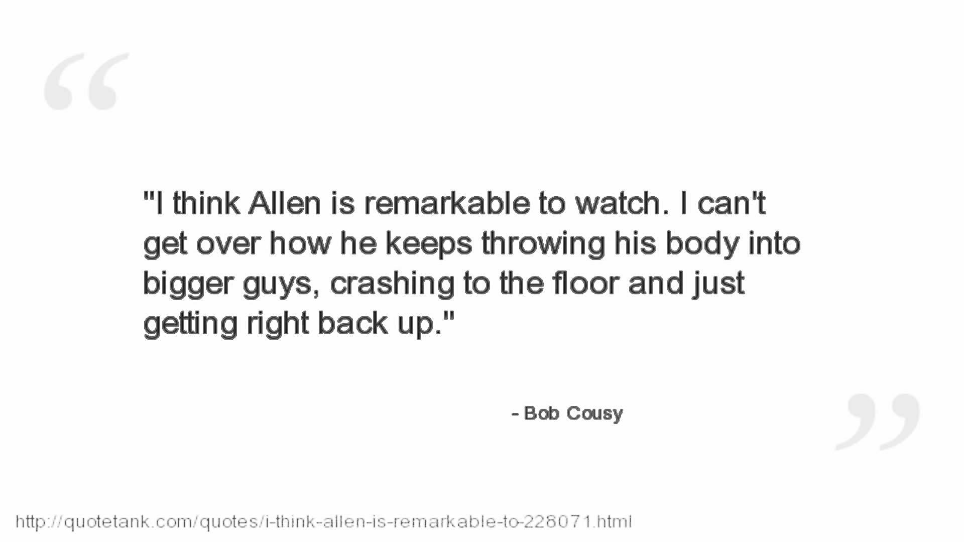 Bob Cousy's quote #5