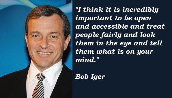 Bob Iger's quote #6