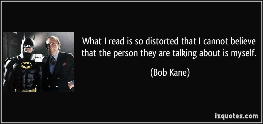 Bob Kane's quote #2