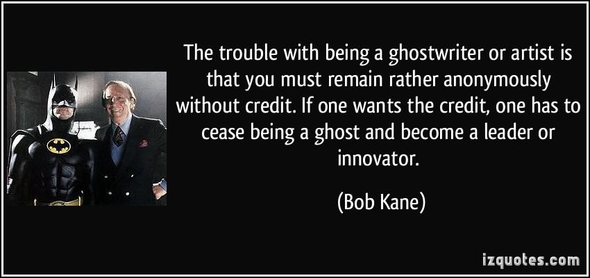 Bob Kane's quote #5