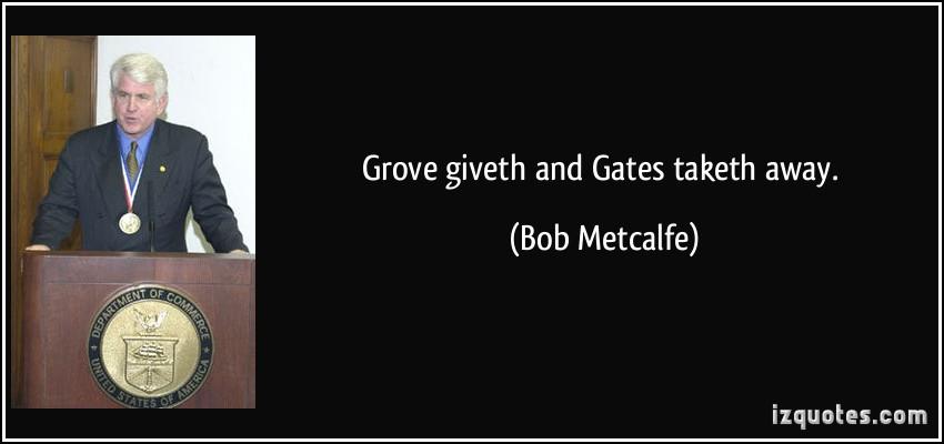 Bob Metcalfe's quote #5
