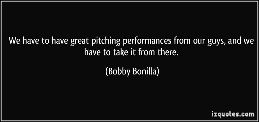 Bobby Bonilla's quote #3