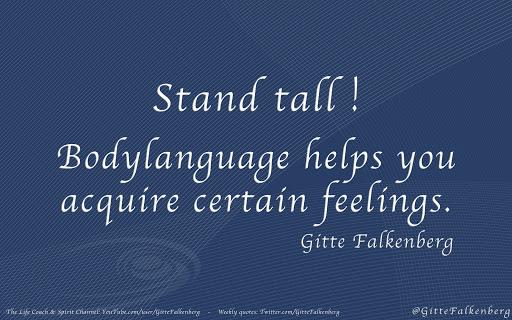 Body Language quote #2