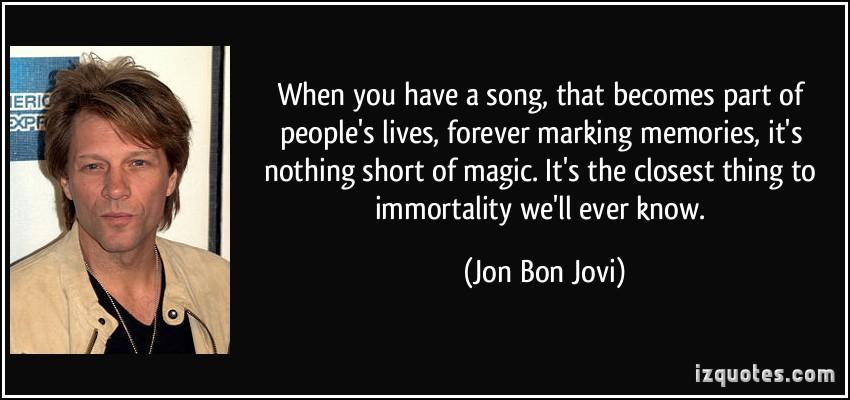 Bon Jovi quote #2