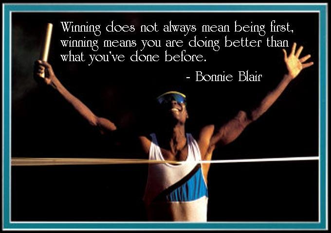 Bonnie Blair's quote #7