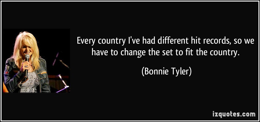 Bonnie Tyler's quote #7