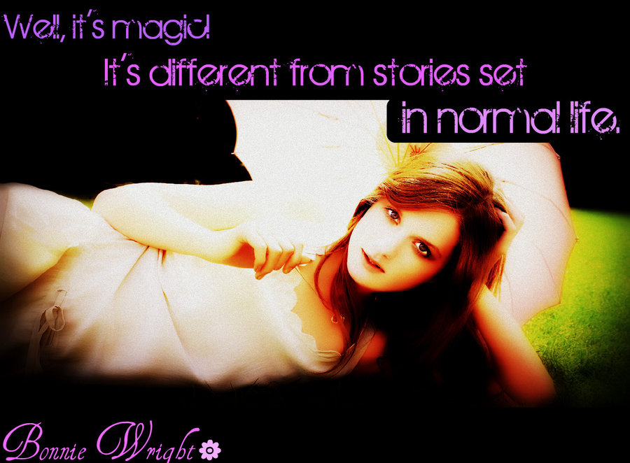 Bonnie Wright's quote #1