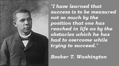 Booker T. Washington's quote #4