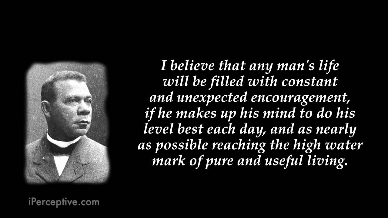 Booker T. Washington's quote #5