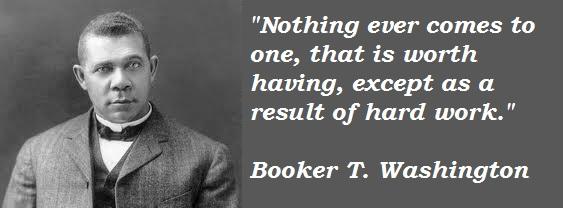 Booker T. Washington's quote #6