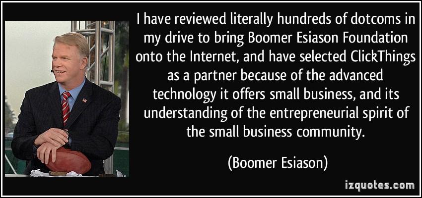 Boomer Esiason's quote #4
