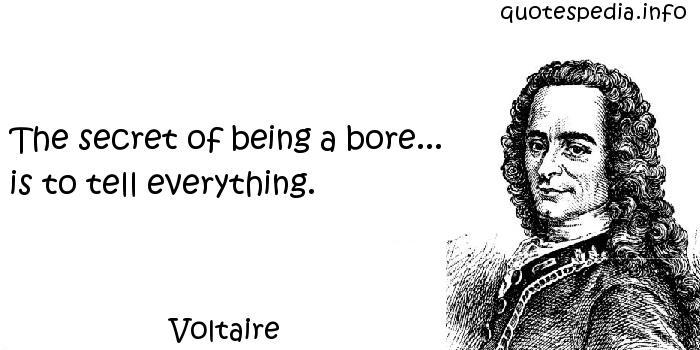 Bore quote #2