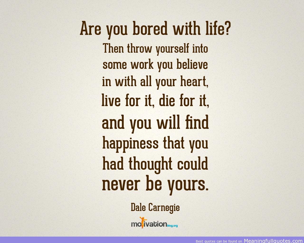 Bored quote #7
