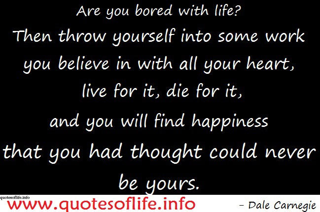 Bored quote #5