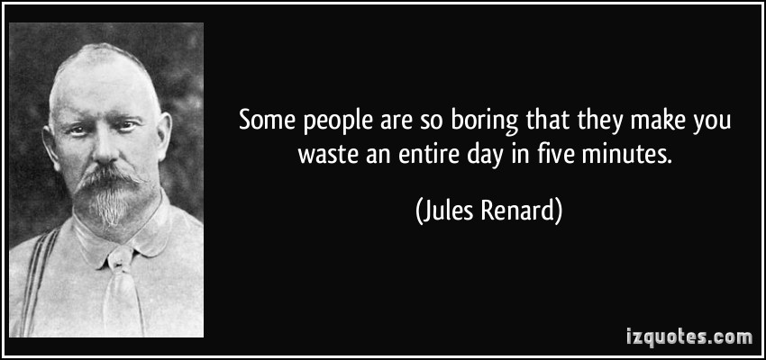 Boring People quote #1