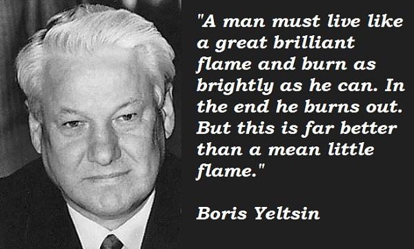 Boris Yeltsin's quote #5