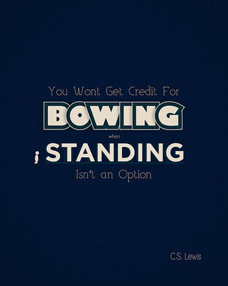 Bowing quote #2