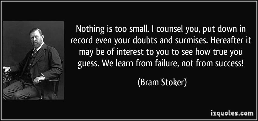 Bram Stoker's quote #3
