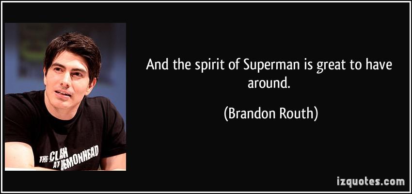 Brandon Routh's quote #2