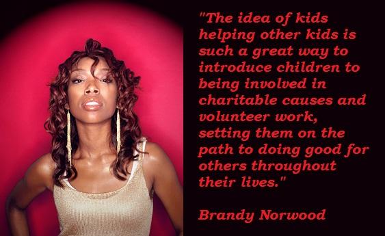 Brandy Norwood's quote #2