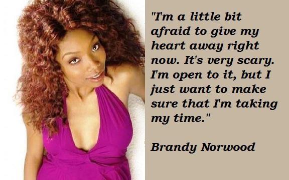 Brandy Norwood's quote #8