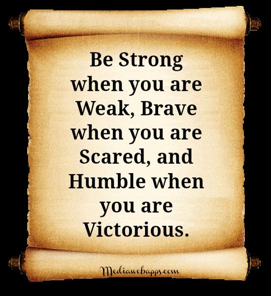 Brave quote #3