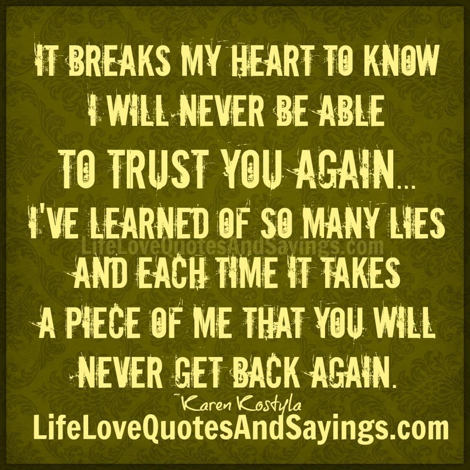 Breaks quote #1