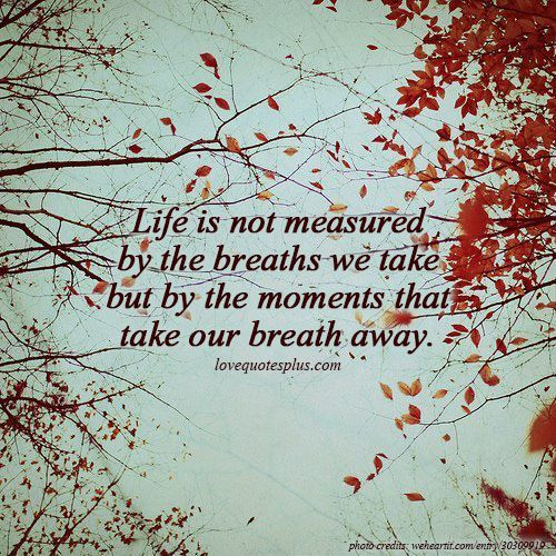 Breaths quote
