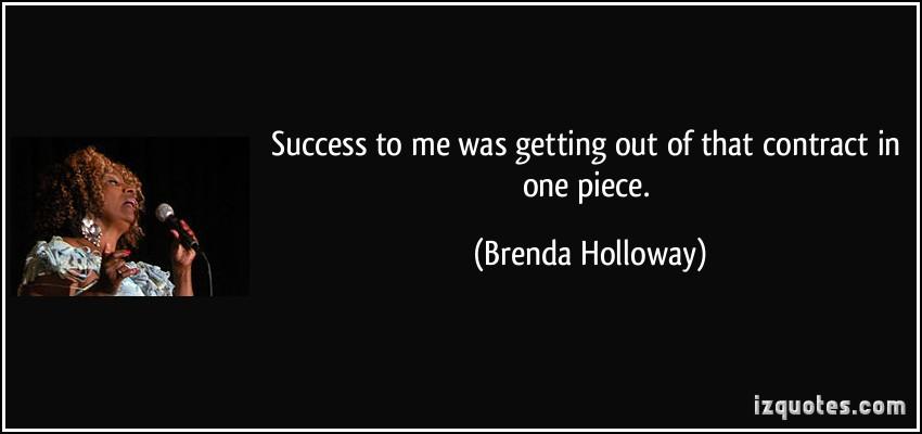 Brenda Holloway's quote #1