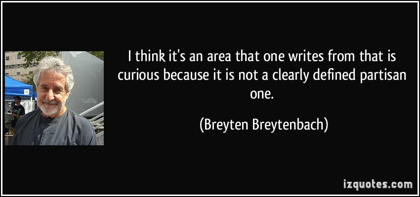Breyten Breytenbach's quote #1
