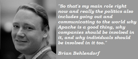 Brian Behlendorf's quote #1